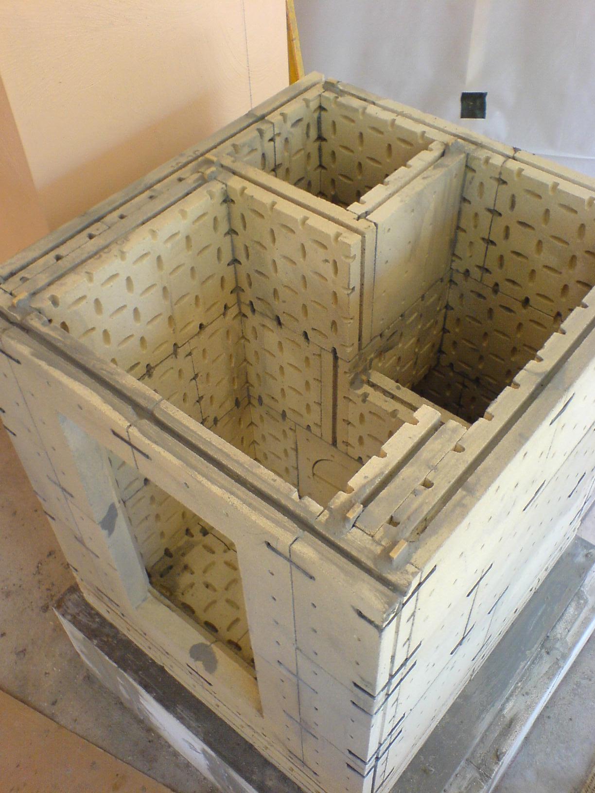 grundofen selbstbausatz so bauen sie den grundofen in. Black Bedroom Furniture Sets. Home Design Ideas